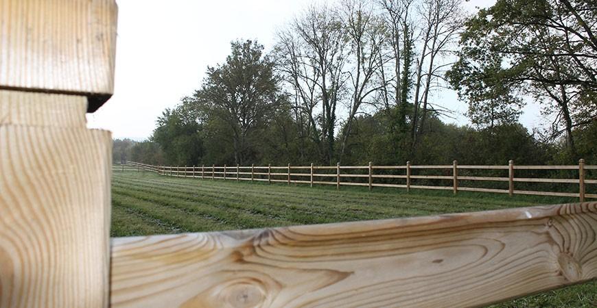 Belles clôtures bois