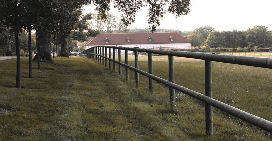 Un domaine de 200 ha clôturé