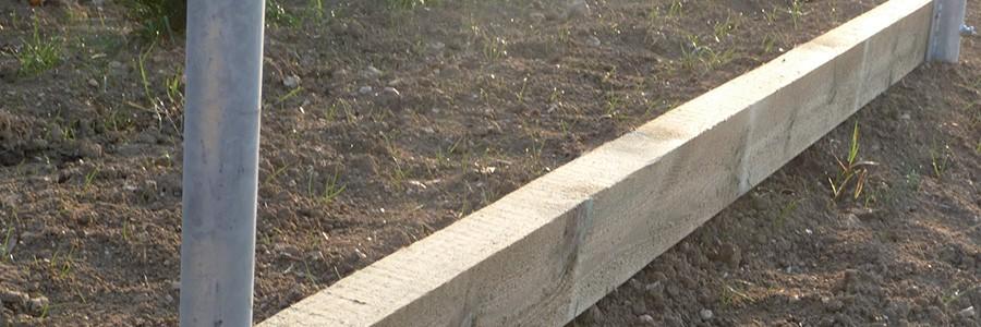 Planche de retenue de sable pour carri u00e8re chevaux Horse Stop # Retenue De Terre En Bois Autoclave
