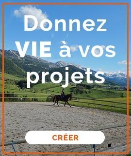 Donnez vie à vos projets équestres!