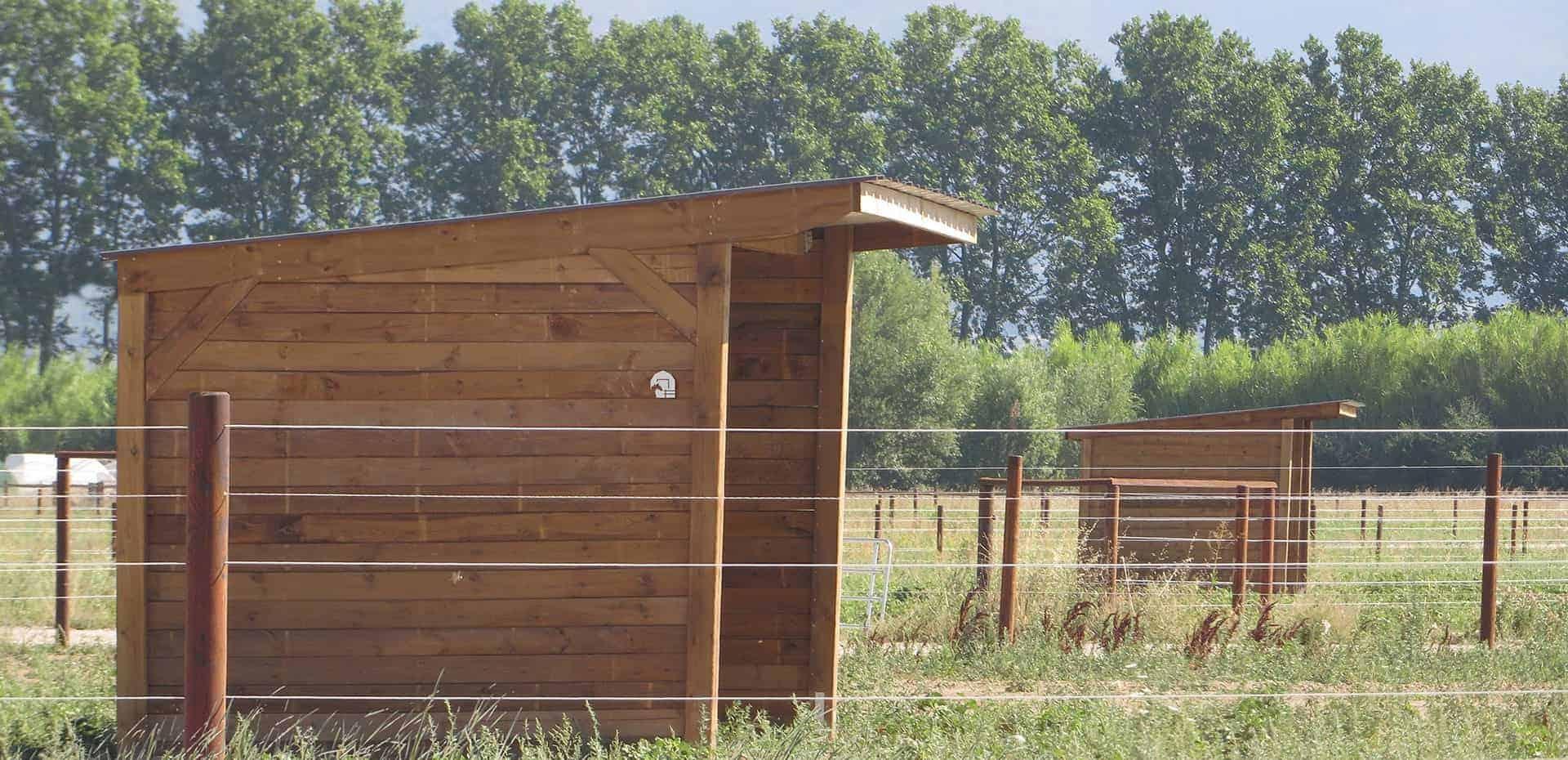 Comment Faire Un Abri Pour Le Bois abri chevaux, abris en bois : abriter vos chevaux en toute